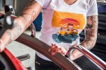 Bus Service Bodensee T-Shirt Frühling 2021