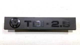 VW T4 Schriftzug Motor TDI 2,5